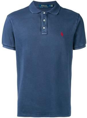 Polo Ralph Lauren washed effect polo shirt