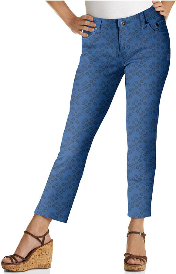 Levi's Petite Jeans, Skinny Ankle Printed