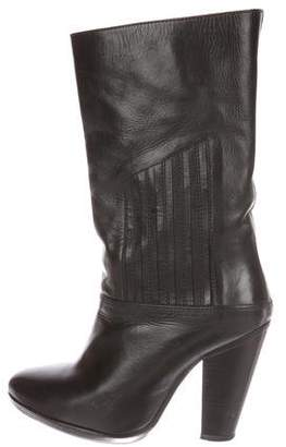Lemaire Leather Mid-Calf Boots