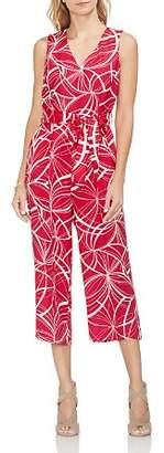 Vince Camuto Sleeveless Printed Jumpsuit