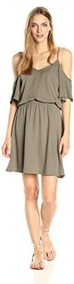 Splendid Women's Cold Shoulder Dress