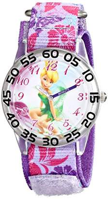 Disney Kids' W001674 Tinker Bell Analog Display Analog Quartz Watch