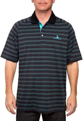 Equipment Men's Pebble Beach Classic-Fit Striped Performance Golf Polo