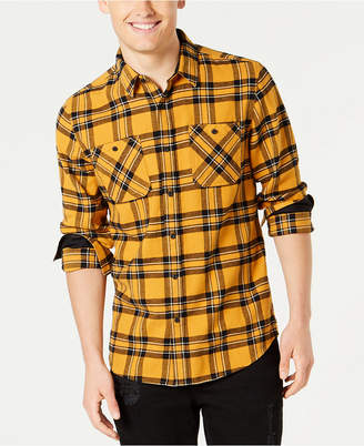 American Rag Men's Charlie Plaid Flannel Shirt
