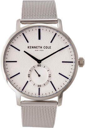 Kenneth Cole New York KC50055002 Silver-Tone & Blue Watch