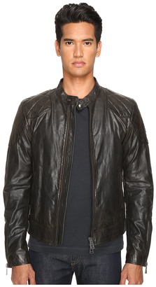 BELSTAFF - Outlaw Lightweight Hand Waxed Leather Jacket Men's Coat $1,895 thestylecure.com