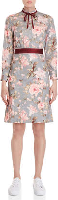 Paul & Joe Sister Floral Ribbon Trim Dress