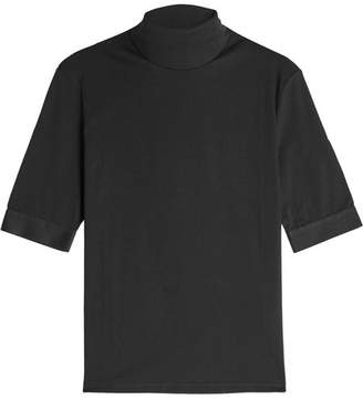 ALYX STUDIO Mock Turtleneck Cotton T-Shirt