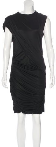 Alexander Wang Alexander Wang Short Sleeve Sheath Dress