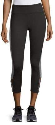 Gaiam Taylor Twist Ankle Capri Leggings