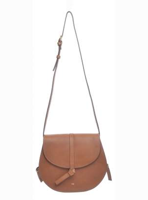 Folk ALEK Classic Tan Saddle Bag