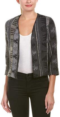 Anama Cozy Cropped Wool-Blend Jacket