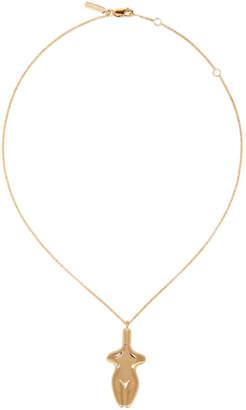 Chloé Gold Femininities Necklace