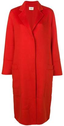 Odeeh concealed fastening coat