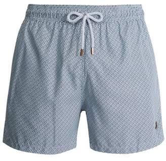Retromarine - Japanese Swim Shorts - Mens - Navy Multi