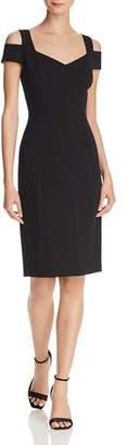 Eliza J Cold-Shoulder Sheath Dress