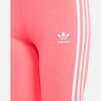 adidas Girls' 3-Stripe Leggings