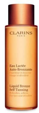 Clarins Liquid Bronze Self-Tanning for Face and Décolleté/ 4.2 oz.