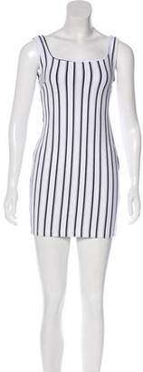A.O.T.C. Striped Sleeveless Dress