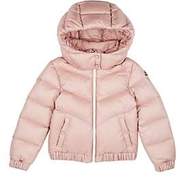 Moncler Kids' Adelie Down-Quilted Coat-Pink