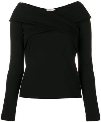 Emilio Pucci fitted long sleeved top