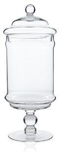 Large Glass Apothecary Jar