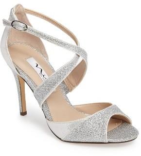 Women's Nina Celosia Crisscross Peep Toe Pump $88.95 thestylecure.com