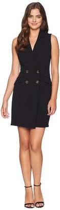 Calvin Klein Tuxedo Dress CD8C15PL Women's Dress