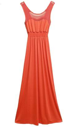 Paperdoll Paper Doll Coral Maxi Dress