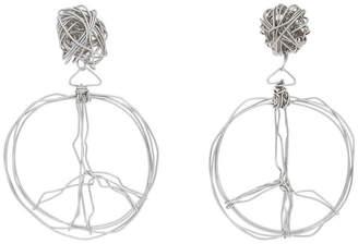 Moschino 9129 8401 Peace Earrings