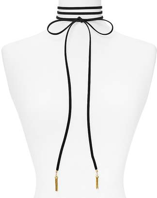 "BAUBLEBAR Lariat Choker Necklace, 13"" $36 thestylecure.com"