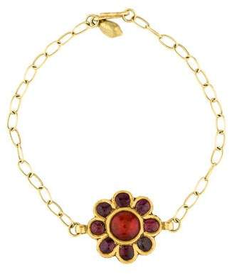 Pippa Small 18K Multistone Flower Bracelet