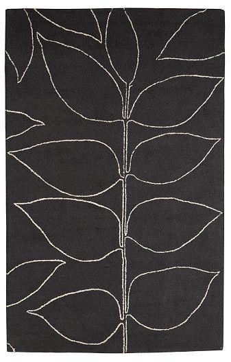 Metallic Botanical Rug