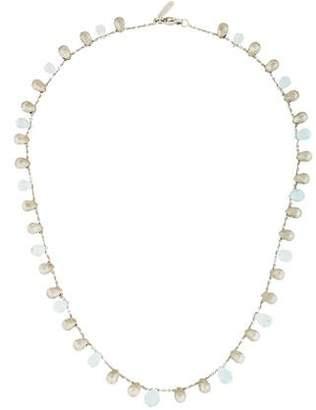 Marco Bicego 18K Aquamarine Bead Necklace