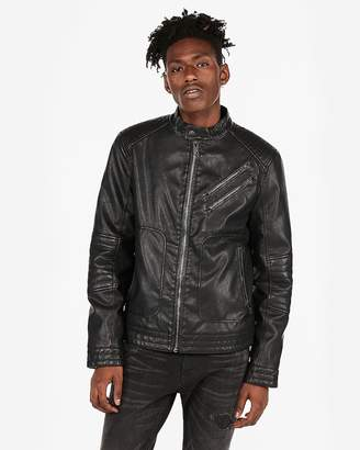 Express Minus The) Leather System Moto Jacket