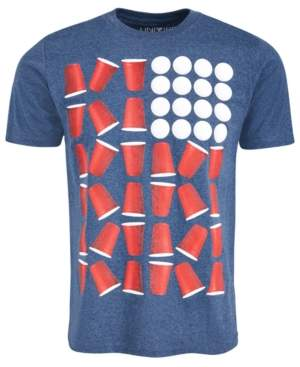 Beer Pong Men's T-Shirt by Univibe
