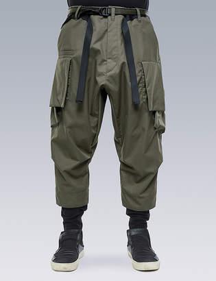 Acronym HD Cotton Cargo Drawcord Trouser
