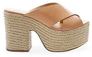 Schutz Women's Lora Braided Platform Sandals