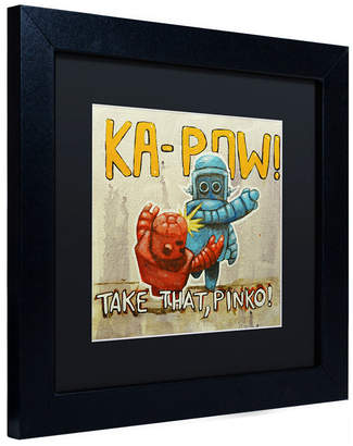 Pinko (ピンコ) - Craig Snodgrass 'Take That Pinko' Matted Framed Art