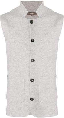 N.Peal collared Milano waistcoat