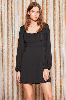 THE FIFTH CIRCUIT LONG SLEEVE DRESS black