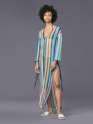 Diane von Furstenberg Tunic Floor-Length Cover-Up