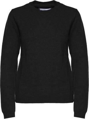 Maison Margiela Elbow-patch Wool-knit Sweater