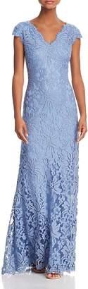 Tadashi Shoji Illusion Lace Gown- 100% EXCLUSIVE