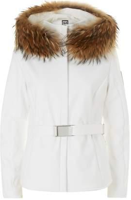 M. Miller Fur Trim Jacket