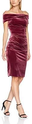 Gina Bacconi Women's Panne Stretch Velvet Dress