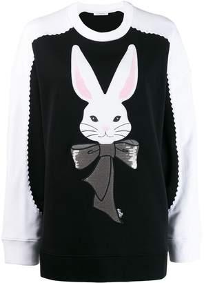 VIVETTA rabbit embroidered sweater