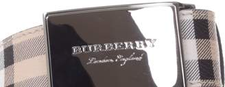 Burberry Hayamarket Check Belt