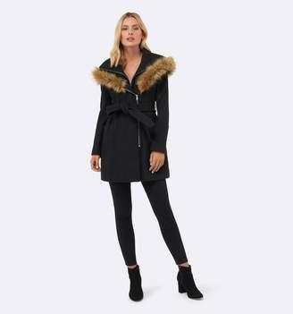 Forever New Stella wrap coat