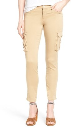 Women's Mavi Jeans 'Juliette' Stretch Twill Ankle Cargo Pants $118 thestylecure.com